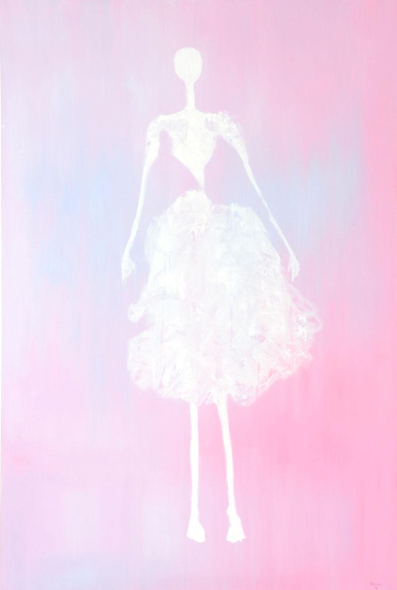 Albertina (for Giacometti) (150cm x 100cm)