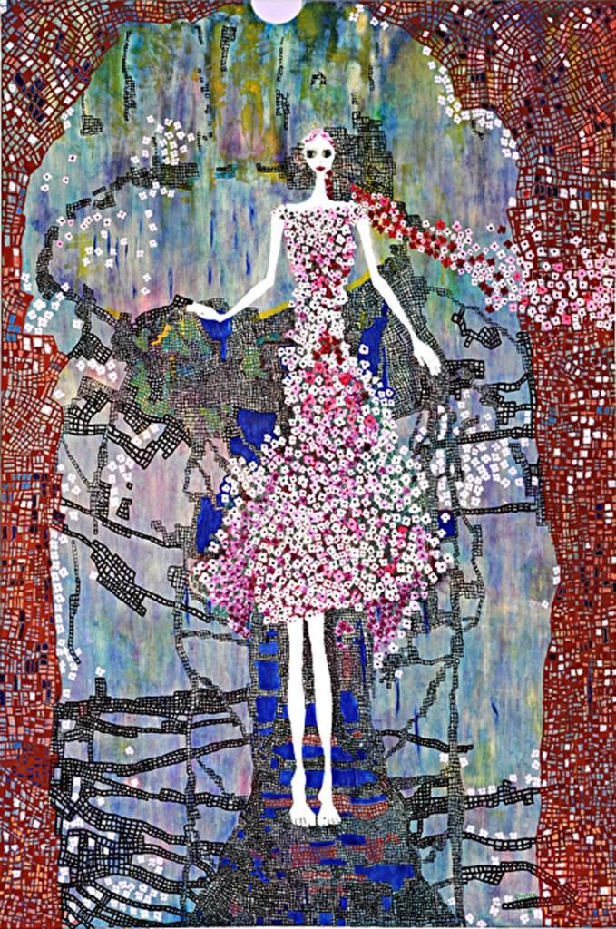 The Painter (150cm x 100cm)